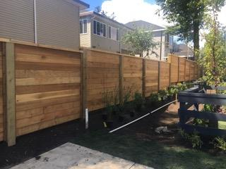 Quality cedar fence installations by Eagle Fencing Limited